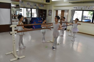 6月23日金曜サファイアクラス(6才~9才クラシックバレエ)