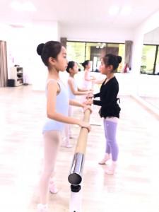 1月10日イオンカルチャークラブ葛西店 ミントクラス (6~9才クラシックバレエ)