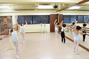 1月7日月曜サファイアクラス(6才~9才クラシックバレエ)