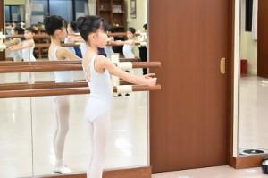 1月9日水曜サファイアクラス(6才~9才クラシックバレエ)