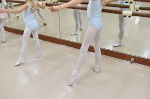 1月23日水曜サファイアクラス(6才~9才クラシックバレエ)