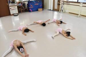 1月8日火曜ルビーAクラス(3才~6才バレエ・歌・読み聞かせ・お話づくり)
