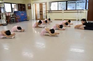 1月22日火曜ルビーAクラス(3才~6才バレエ・歌・読み聞かせ・お話づくり)