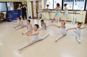 1月26日土曜サファイアクラス(6才~9才クラシックバレエ)