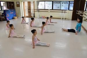 1月29日火曜ルビーAクラス(3才~6才バレエ・歌・読み聞かせ・お話づくり)