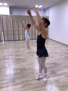 12月27日イオンカルチャークラブ葛西店 ミントクラス (6~9才クラシックバレエ)