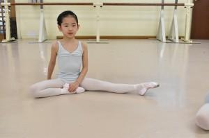 1月30日水曜サファイアクラス(6才~9才クラシックバレエ)
