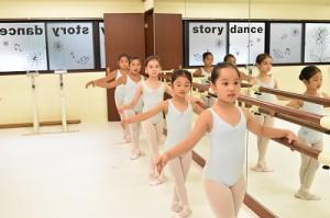 8月30日金曜サファイアクラス(6歳~9歳クラシックバレエ)