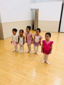 2月24日イオンカルチャークラブ東雲店ベビーAクラス(2歳、3歳バレエ・歌・読み聞かせ・お話創り)