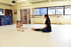 2月28日金曜パールクラス(2歳・3歳バレエ、歌、読み聞かせ、お話しづくり)